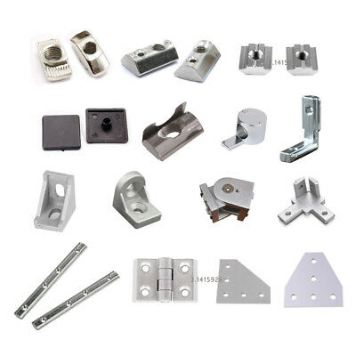 T Nuts & Accessories for 2020 EU Aluminium Extrusion Profile Slot 6mm 3D Printer