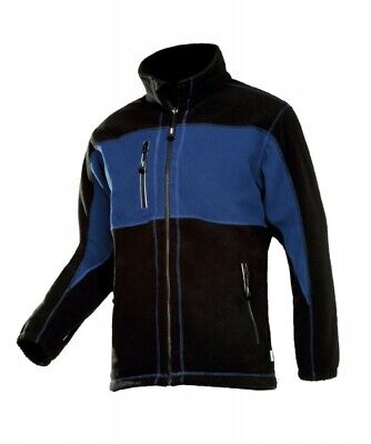 Sioen Durango Blue Mens Work Fleece Cold Protection Windbreaker Jacket Workwear