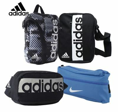 ADIDAS LINEAR Organiser Bag Performance Small Black Slim Shoulder ... 48c481dc20467