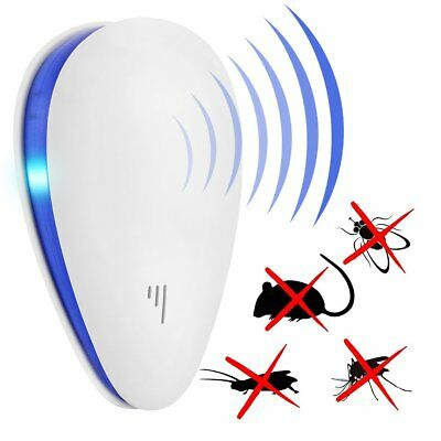 Ultrasonic Electronic Anti Mosquito Pest Rat Insect Cockroach Repeller Reject