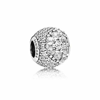 Authentic Sterling Silver Pandora Charms Enchanted Pave Clear CZ 797032CZ 2018