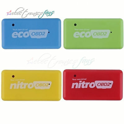 Eco Nitro OBD2 Chip Tuning Box Interface Plug and Drive for Diesel/Benzine Cars