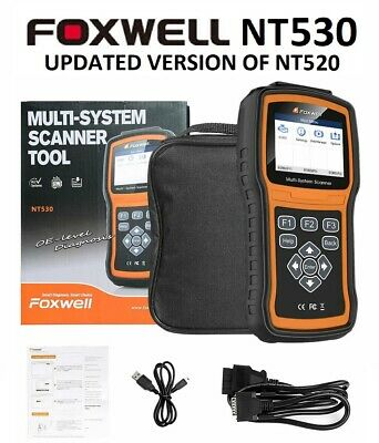 Ford Foxwell Nt520 Pro Diagnostic Scanner Tool Srs Airbag Abs Engine Brake Reset