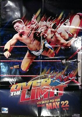 WWE Night of Champions 2010 PPV Promotional Poster Good Condition Kane