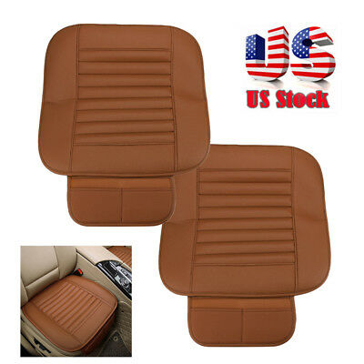Bamboo Charcoal PU Leather Car Seat Cushion Full Surround Breathable Seat Cover