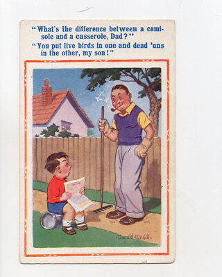 Donald Mcgill comic card no 1764 Unposted