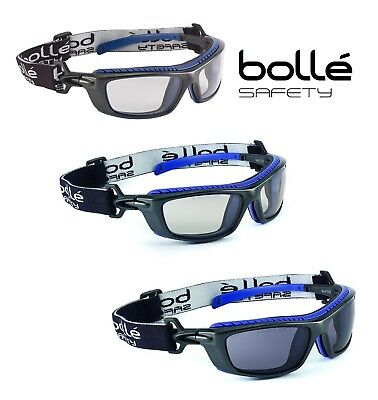Bolle Baxter Safety Glasses Goggles - Anti-Fog & Anti-Scratch  Various Lens