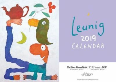 2019 Michael Leunig Calendar The Age The Sydney Morning Herald