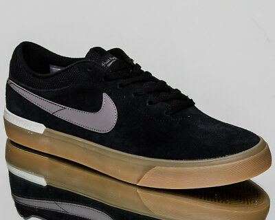 ba3ced4e7821 Nike SB Koston Hypervulc Men Black Gunsmoke Vast Grey White Sneakers 844447 -006