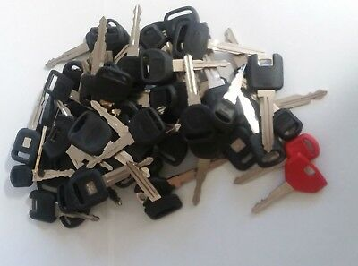 Large Lot of  Misc CUT CAR Key 3 lbs + All with plastic head
