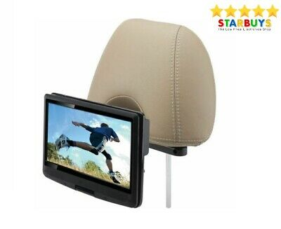 """10"""" Inch Portable DVD Player with Swivel Screen In Car Charger & 12V Power Kit"""