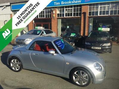 Daihatsu Copen 1.3 7 Service Stamps, Very Stylish In Silver With Red Leather,
