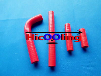 Red silicone radiator hose for YAMAHA YZ426F YZ 426 F 2000 2001 2002 00 01 02