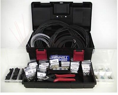 Venhill 10m Workshop DIY Throttle Clutch Cable kit Motorcycle Quad VWK005