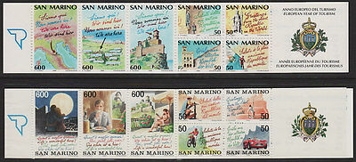 San Marino Booklets MNH 1990 MH2 1992 MH3. Select the ones you want....