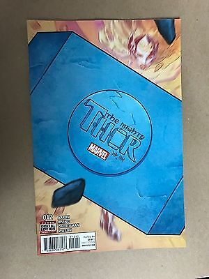 Mighty Thor #12 First Print Marvel Comics (2016) Jane Foster