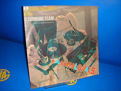 LP disk vinyl Malcolm McLaren And The World's Famous Supreme Team-Buffalo Gals