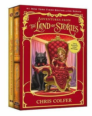 (NEW) The Land of Stories: Adventures from the Land of Stories Boxed Set