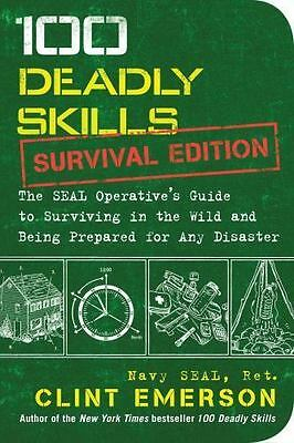 (NEW) 100 Deadly Skills Seal Operative's Guide to Surviving in the Wild Paper BK