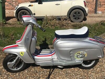 Italian Lambretta TV175 Series 3 1963 , registered as a 125 !!