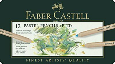 Faber-Castell PITT Pastel Pencils Tin Of 12
