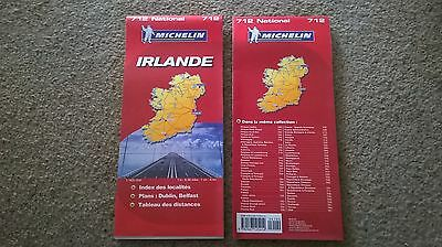 ***NEW Michelin road map of Ireland 712*** Motoring, Touring, Caravan FREE P&P