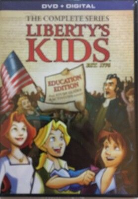 Liberty's Kids Dvd-The Complete Series-3 Dvd's-Rare Vintage-Ships N 24 Hours-New