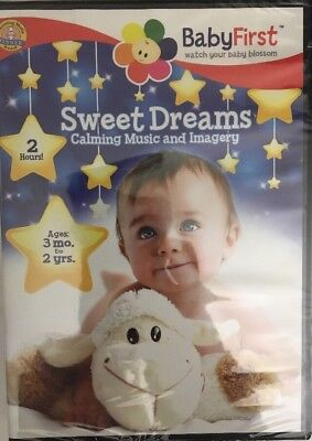 BabyFirst Sweet Dreams Calming Music and Imagery DVD RARE VINTAGE-SHIPS N 24 HRS