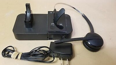 497502560c0 Jabra Pro 9400Bs Binaural Wireless Headset System - Dock + Headset - Clean