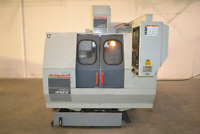 Bridgeport Interact 412X Vertical Machining Center