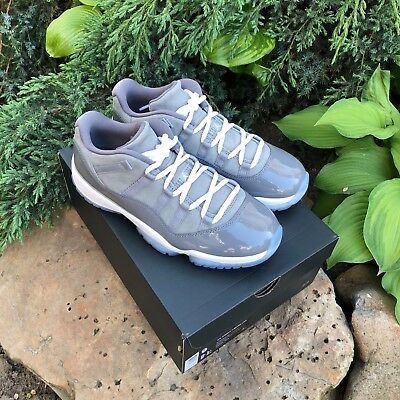 d834429d2fe Nike Air Jordan 11 XI Retro Low COOL GREY Gunsmoke White 528895-003 MENS US8