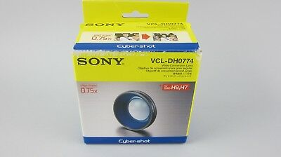 Sony VCL-DH0774 74mm 0.75x Wide Conversion lens for DSC-H7/H9 Digital Camera