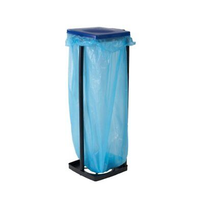 axentia Top Star Bin Bag Stand, Assorted Color BleuRed, 28 x 32 x 87 cm, 2-Pi