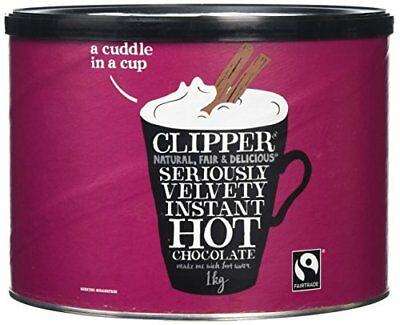 Clipper Fairtrade Instant Hot Chocolate 1 Kg
