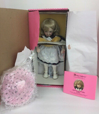 """Paradise Galleries Doll """"KATHY"""" Musical Doll Jesus Song Porcelain New In Box"""