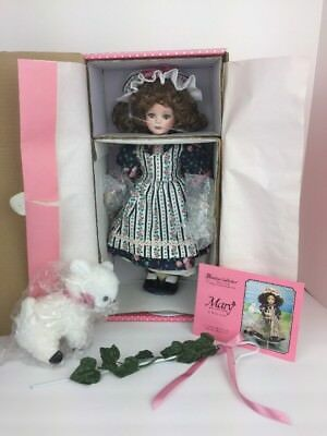 """Paradise Galleries Doll """"MARY"""" Musical Doll Mary Had A Little Lamb New In Box"""