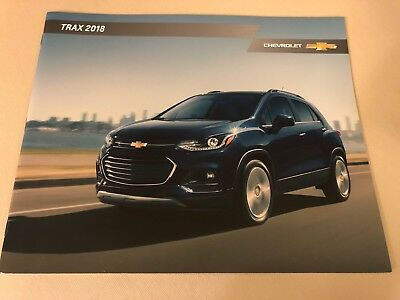 2018 CHEVY TRAX 24-page Original Sales Brochure