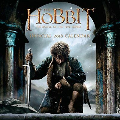 Official The Hobbit 2016 Square Wall Calendar Calendar 2016