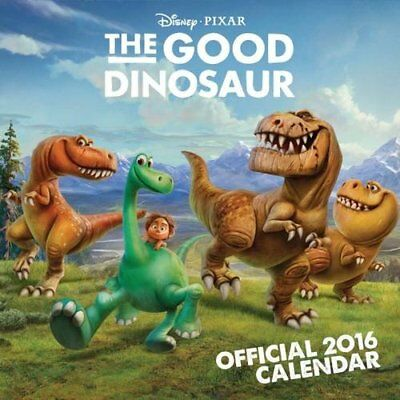 Official Good Dinosaur 2016 Square Calendar Disney Pixar Movie