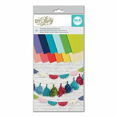 We R Memory Keepers Motion DIY Party 6 X 12 Inch Tissue Paper RNUM-Pack 48 Sheet