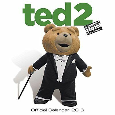 Official Ted 2 2016 Square Wall Calendar Universal Movie Calendar 2016