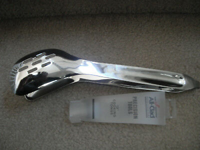 "All-Clad Precision Tools 12"" cooking tongs NEW"