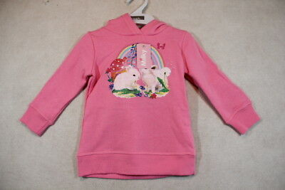 Baby Girl Size 0,1 Milky Winter Pink Bunny Hoodie Jumper NWT