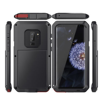 Metal Aluminum Case Cover Waterproof Shockproof For Samsung Galaxy S9 S9 Plus