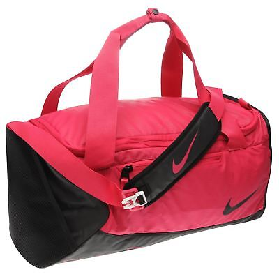 Nike Alpha Adapt Cross Body Bag Pink Black Shoulder Sports Gym Bag Holdall e3a24abb53515