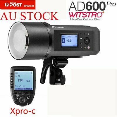 AU Godox AD600Pro 600W TTL HSS Outdoor Flash + XPRO-C Transmitter Kit for Canon