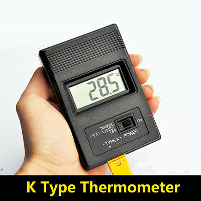 TM-902C Instruments K Type Thermocouple Probe LCD Thermometer Single Input