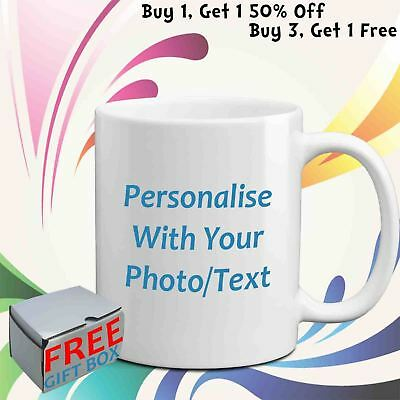 Personalised Mug Custom Your Photo Text Image Freshers Birthday Anniversary Gift