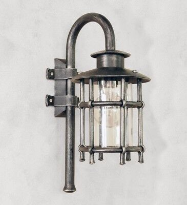 Wrought Iron Lights on wall exterior handcrafted