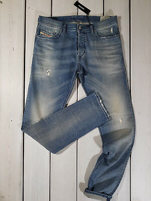 f4317953 Rrp $152 New Diesel Men's Jeans Tepphar 0845F Slim Carrot Stretch  Stonewashed